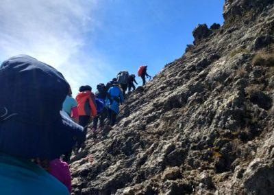 Climbing Mount Meru, Tanzania
