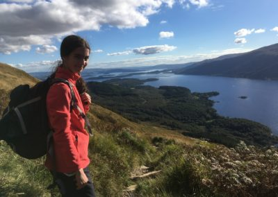 Boarding pupils climb Ben Lomond