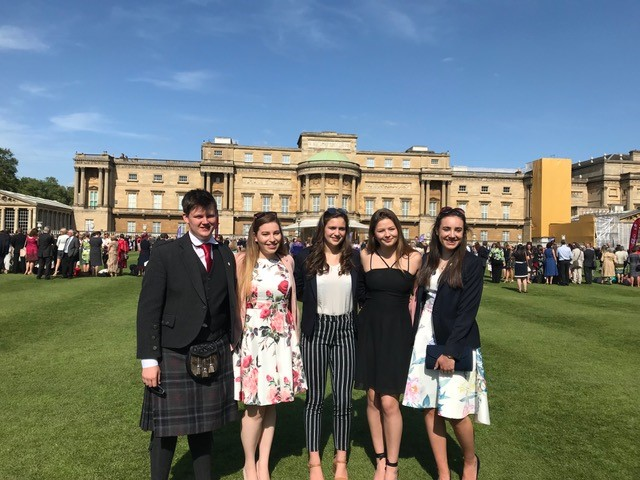 DofE Gold at Buckingham Palace