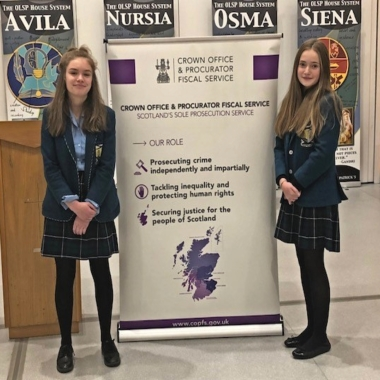 Public Speaking takes Lomond to District Final