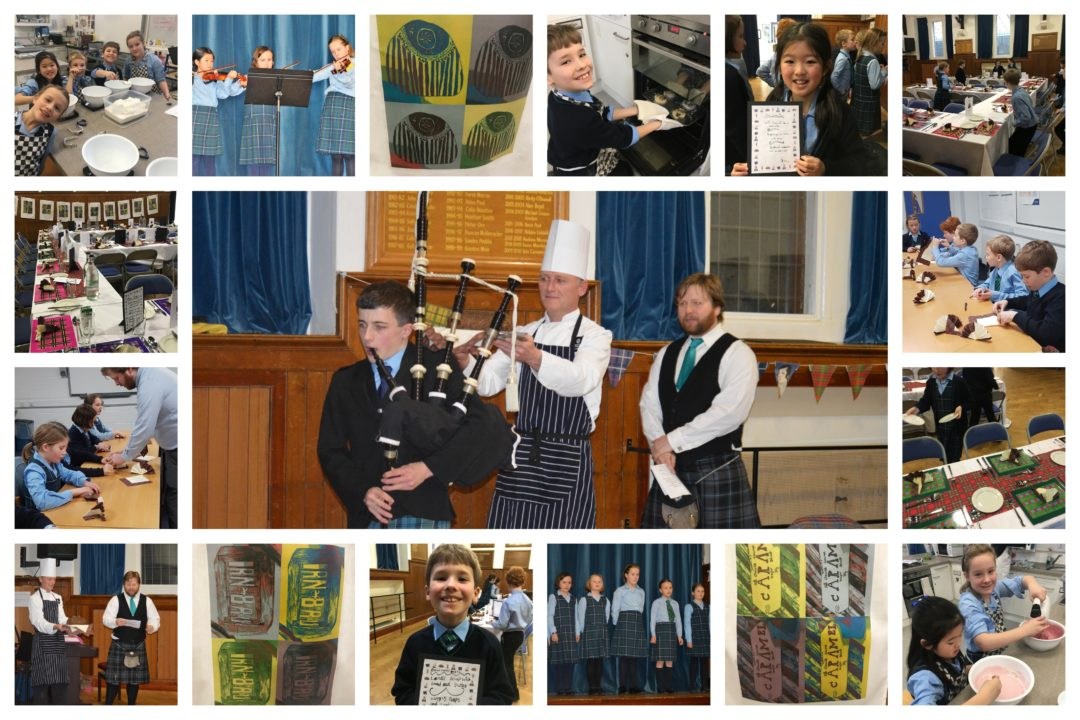 Junior 5 Burns Supper