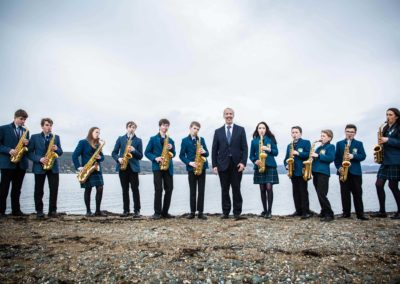 Lomond School Saxophonists