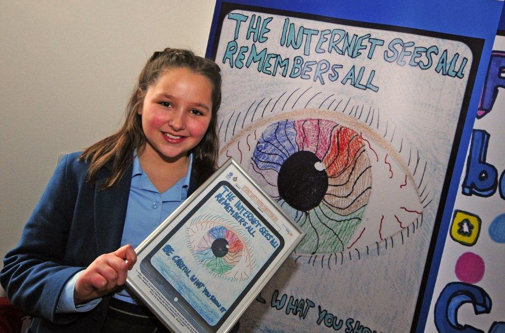 Lomond Pupil wins Internet Safety Competition