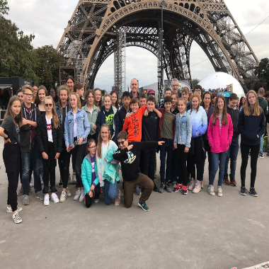 Senior Pupils visit Paris