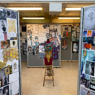 Art Exhibition shines a light on pupil's work
