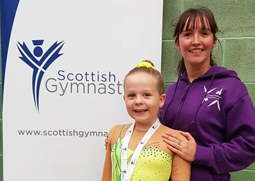 GB training for top gymnast Olivia