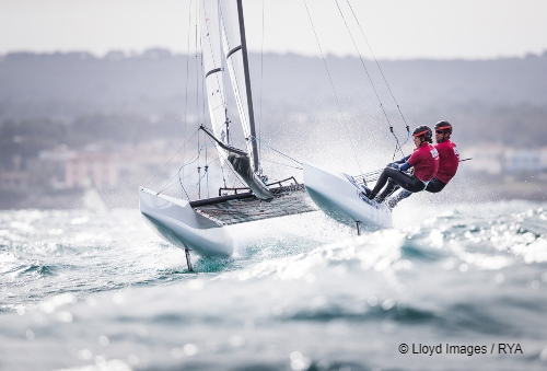 Lomond Alumni Anna Burnet sets sail for Tokyo Olympics
