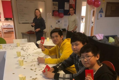 Boarders Celebrate Chinese New Year